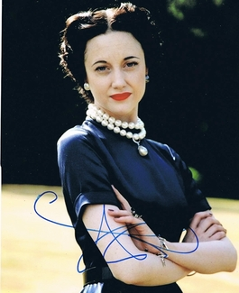 Andrea Riseborough Signed 8x10 Photo