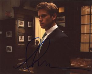 Armie Hammer Signed 8x10 Photo