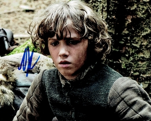 Art Parkinson Signed 8x10 Photo - Video Proof
