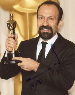 Asghar Farhadi Signed 8x10 Photo - Video Proof