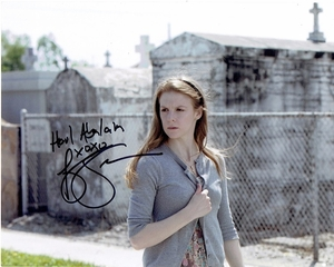 Ashley Bell Signed 8x10 Photo