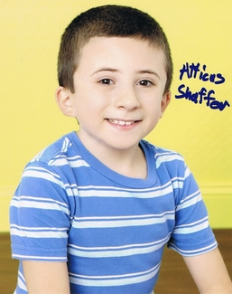 Atticus Shaffer Signed 8x10 Photo - Video Proof