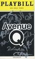 Avenue Q Signed Playbill