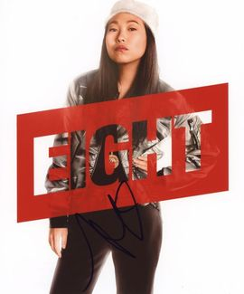 Awkwafina Signed 8x10 Photo