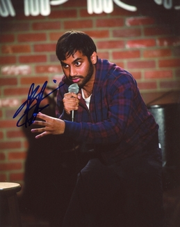 Aziz Ansari Signed 8x10 Photo - Video Proof
