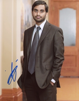 Aziz Ansari Signed 8x10 Photo