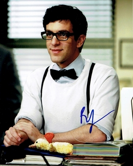 B.J. Novak Signed 8x10 Photo - Video Proof