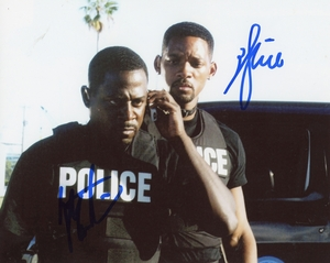 Will Smith & Martin Lawrence Signed 8x10 Photo - Video Proof