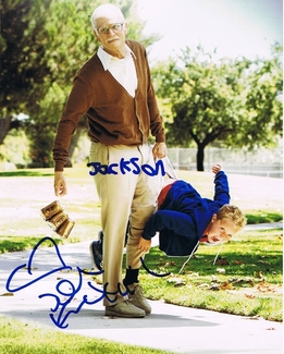 Johnny Knoxville & Jackson Nicoll Signed 8x10 Photo - Proof