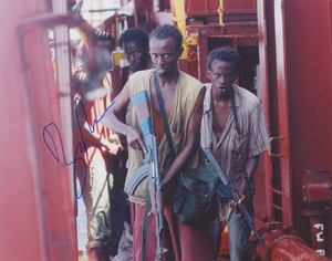 Barkhad Abdi Signed 8x10 Photo