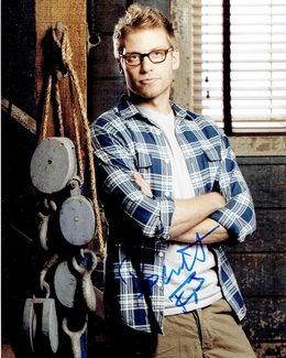 Barrett Foa Signed 8x10 Photo - Video Proof