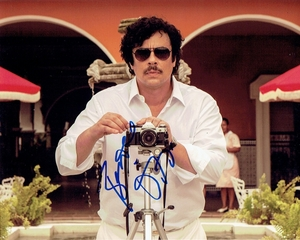 Benicio Del Toro Signed 8x10 Photo
