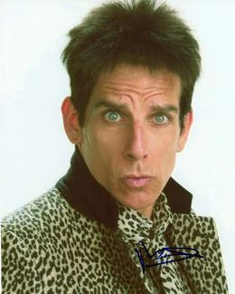 Ben Stiller Signed 8x10 Photo - Video Proof