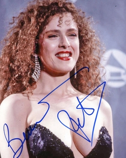 Bernadette Peters Signed 8x10 Photo