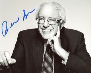 Bernie Sanders Signed 8x10 Photo