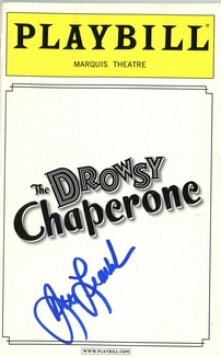 Beth Leavel Signed Playbill