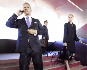 Patrick Fabian & Rhea Seehorn Signed 8x10 Photo