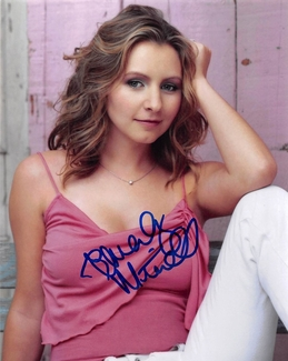 Beverley Mitchell Signed 8x10 Photo