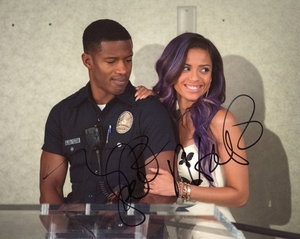 Gugu Mbatha-Raw & Nate Parker Signed 8x10 Photo - Video Proof