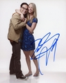 Kaley Cuoco & Johnny Galecki Signed 8x10 Photo - Video Proof