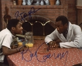 Bill Cosby & Malcolm-Jamal Warner Signed 8x10 Photo