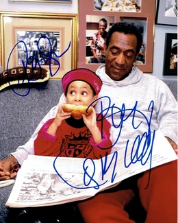 Bill Cosby & Raven Simone Signed 8x10 Photo - Video Proof