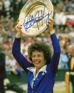 Billie Jean King Signed 8x10 Photo