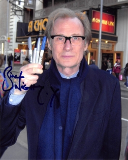 Bill Nighy Signed 8x10 Photo