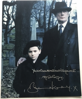Bill Nighy Signed 11x14 Photo