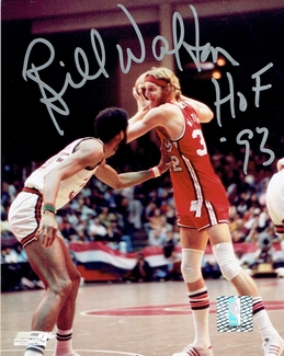 Bill Walton Signed 8x10 Photo