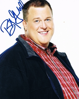 Billy Gardell Signed 8x10 Photo