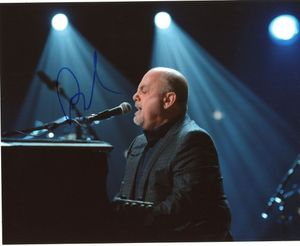 Billy Joel Signed 8x10 Photo