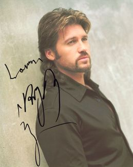 Billy Ray Cyrus Signed 8x10 Photo