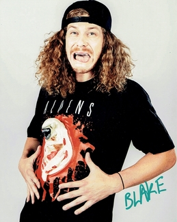 Blake Anderson Signed 8x10 Photo - Video Proof