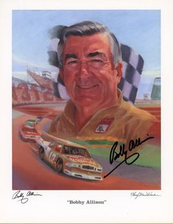 Bobby Allison Signed 8x10 Photo