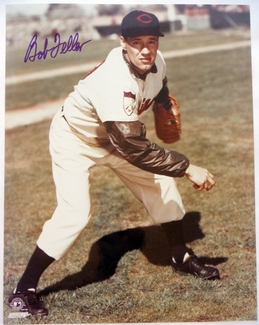 Bob Feller Signed 11x14 Photo