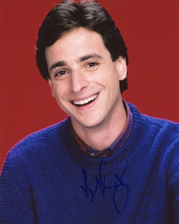 Bob Saget Signed 8x10 Photo