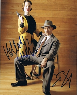 Holliday Grainger & Emile Hirsch Signed 8x10 Photo