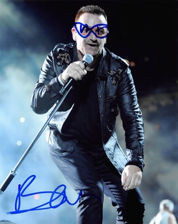 Bono Signed 8x10 Photo - Video Proof