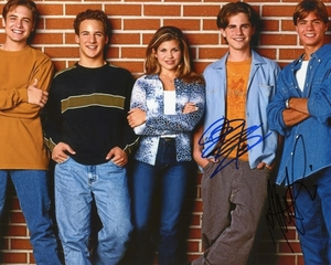 Rider Strong & Matthew Lawrence Signed 8x10 Photo