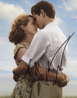 Andrew Garfield & Claire Foy Signed 8x10 Photo
