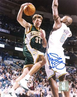 Brent Barry Signed 8x10 Photo
