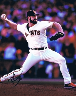 Brian Wilson Signed 8x10 Photo