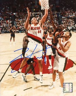 Brian Grant Signed 8x10 Photo