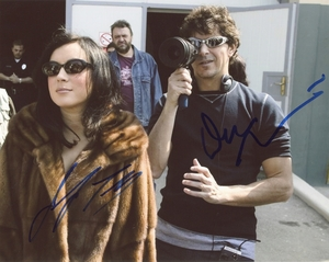 Don Mancini & Jennifer Tilly Signed 8x10 Photo