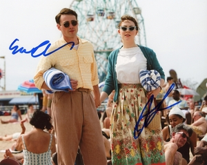 Saoirse Ronan & Emory Cohen Signed 8x10 Photo