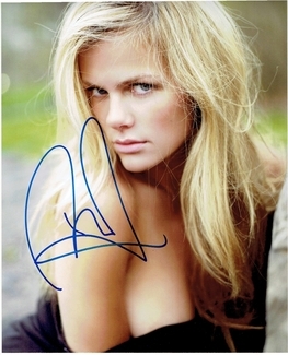 Brooklyn Decker Signed 8x10 Photo - Proof