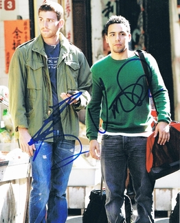 Bryan Greenberg & Victor Rasuk Signed 8x10 Photo