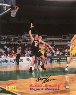 Bryant Reeves Signed 8x10 Photo