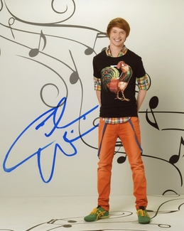 Calum Worthy Signed 8x10 Photo - Video Proof